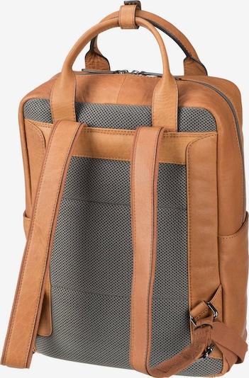 STRELLSON Rugzak in de kleur Bruin / Grijs, Productweergave