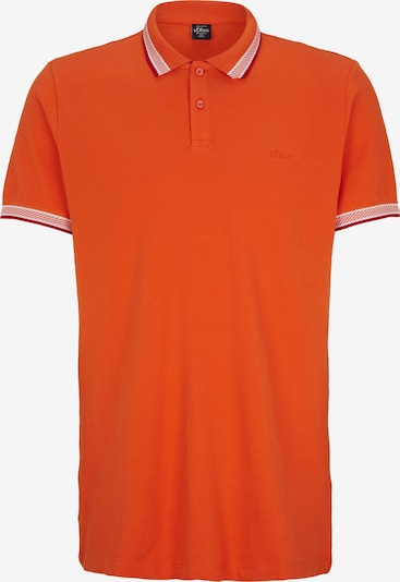 s.Oliver Men Tall Sizes Poloshirt in orange, Produktansicht