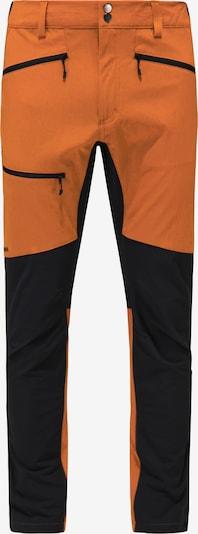 Haglöfs Outdoorhose 'Rugged Flex' in orange / schwarz, Produktansicht