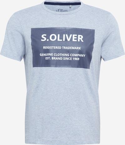 s.Oliver T-Shirt in grau / anthrazit, Produktansicht
