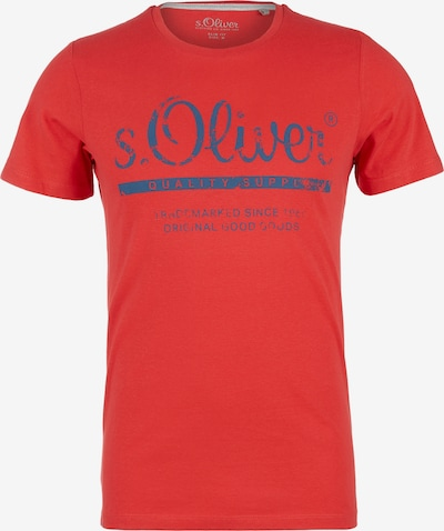 s.Oliver T-Shirt in rot: Frontalansicht