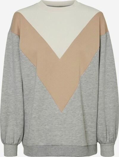 VERO MODA Sweatshirt in creme / braun / grau, Produktansicht