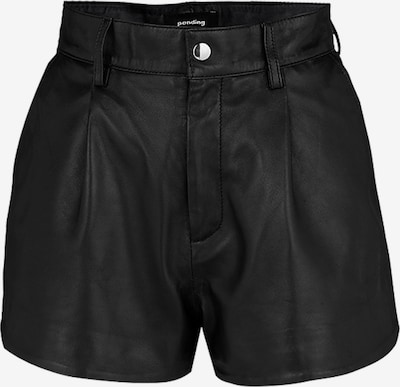 tigha Ledershorts  ' Rock n Roll Shorts 21031 ' in schwarz, Produktansicht