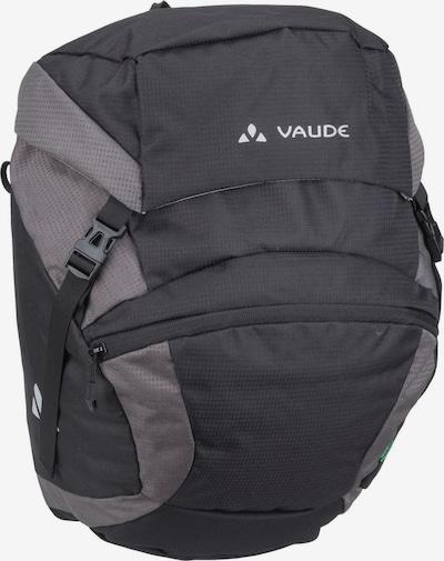 VAUDE Fahrradtasche 'OnTour Front' in grau / schwarz, Produktansicht