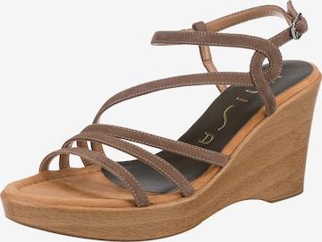 UNISA Sandalette 'Rabal' in Beige