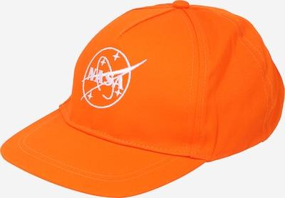 NAME IT Hatt 'NASA' i orange / vit, Produktvy
