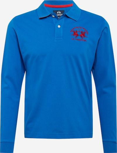La Martina Majica | modra / rdeča barva, Prikaz izdelka