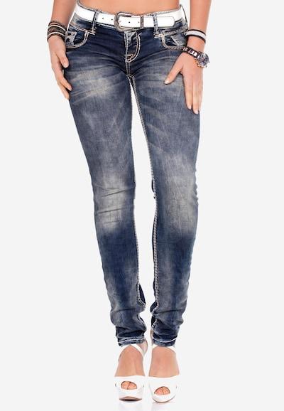 CIPO & BAXX Jeans 'Valley' in de kleur Blauw, Modelweergave