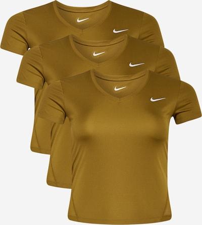 NIKE Funkční tričko 'Miler' - olivová / bílá, Produkt