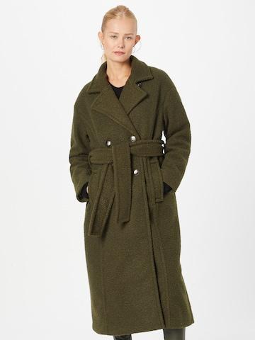 ICHI Płaszcz przejściowy 'Otw' w kolorze zielony