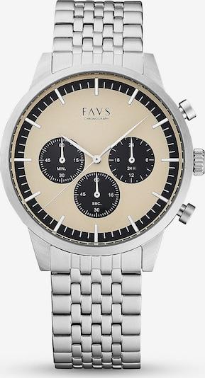 FAVS FAVS Unisex-Uhren Analog Quarz ' ' in silber, Produktansicht
