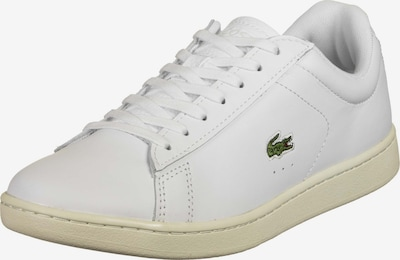 LACOSTE Sneaker  ' Carnaby Evo ' in dunkelgrün / weiß, Produktansicht