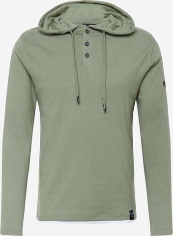 Key Largo Sweatshirt 'SARAGOSSA' in Green