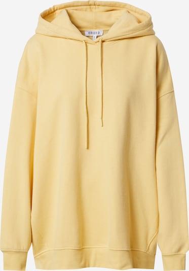 EDITED Sweatshirt 'Nyla' in Yellow, Item view