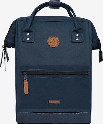 Cabaia Rucksack in navy / türkis / jade / grasgrün / orange, Produktansicht