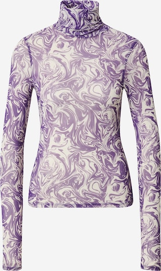 LeGer by Lena Gercke Shirt 'Tamina' in Purple / Off white, Item view