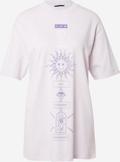Tally Weijl Camiseta talla grande en lila pastel / lila oscuro / blanco, Vista del producto