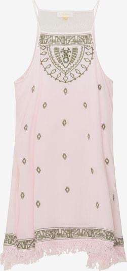 usha FESTIVAL Kleid in khaki / pastellpink / weiß, Produktansicht