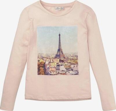 TOM TAILOR T-Shirt in mischfarben / rosa, Produktansicht