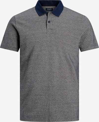 JACK & JONES Poloshirt in navy / naturweiß, Produktansicht