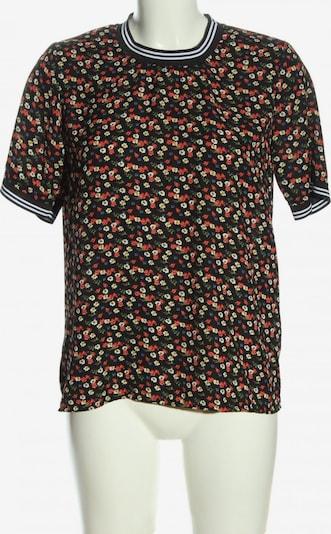 Pigalle Kurzarm-Bluse in M in rot / schwarz / weiß, Produktansicht