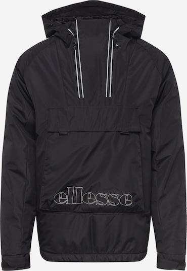 ELLESSE Tussenjas 'Skilerio' in de kleur Zwart / Wit, Productweergave
