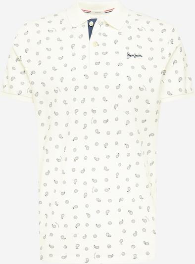 Pepe Jeans Shirt 'BENETT' in de kleur Nachtblauw / Wit, Productweergave