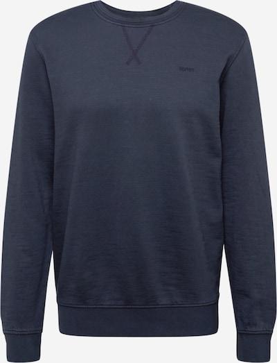 ESPRIT Sweat-shirt en bleu nuit, Vue avec produit