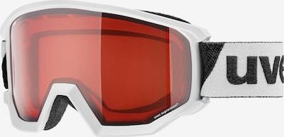 UVEX Brille 'athletic LGL' in dunkelrot / schwarz / weiß, Produktansicht