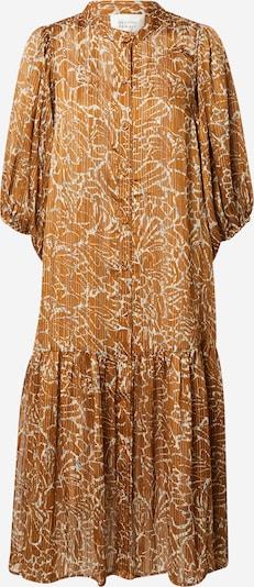 SECOND FEMALE Robe-chemise 'Fijito' en crème / bleu clair / marron: Vue de face