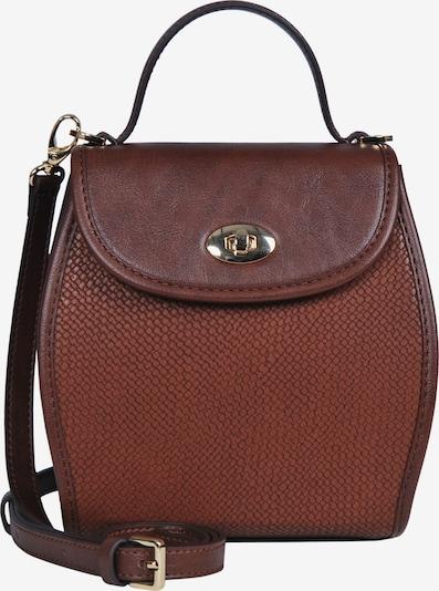 Silvio Tossi Handtasche in dunkelbraun, Produktansicht