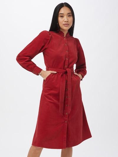 Maison 123 Košeľové šaty 'LAURA' - hrdzavo červená, Model/-ka