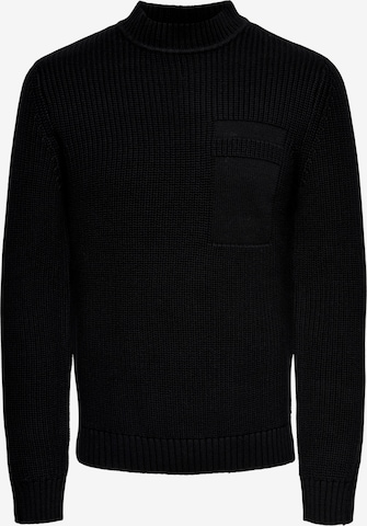Only & Sons Sweater 'Blaze' in Black