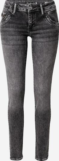 Mavi Jean 'Lindy' en gris denim, Vue avec produit