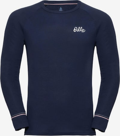 ODLO Funktionsshirt 'BL TOP Crew neck l/s ACTIVE' in navy, Produktansicht