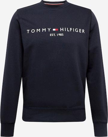 TOMMY HILFIGER Sweatshirt i blå