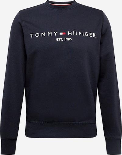 TOMMY HILFIGER Mikina - tmavomodrá / červená / biela, Produkt