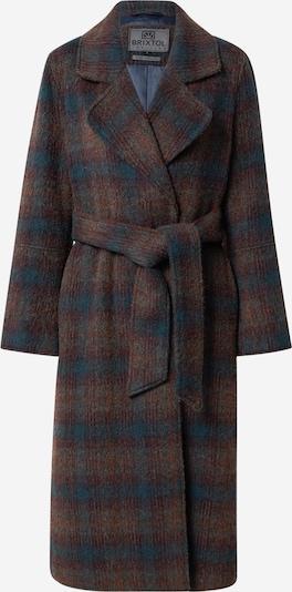 Palton de primăvară-toamnă 'Mika' Brixtol Textiles pe ciocolatiu / verde petrol / roșu vin, Vizualizare produs