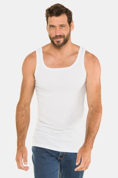 JP1880 Top in weiß, Modelansicht