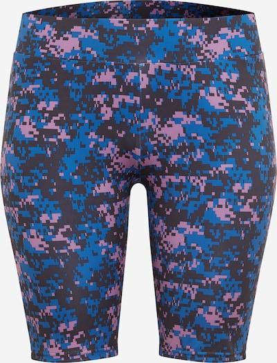 Urban Classics Curvy Shorts in lilameliert, Produktansicht
