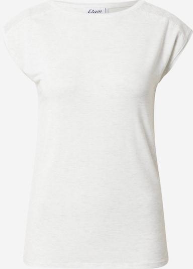 ETAM Chemise de nuit 'CIDDY' en blanc chiné, Vue avec produit