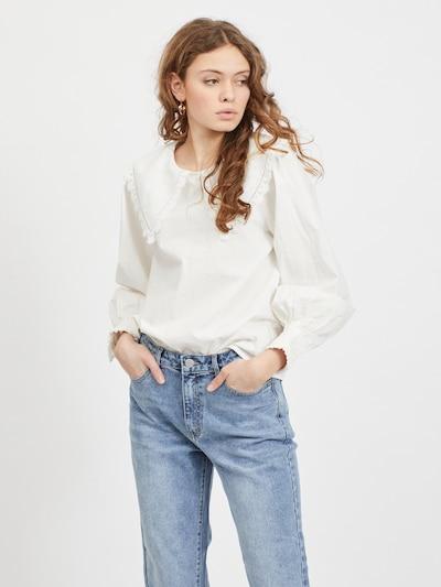 Palaidinė 'Damka' iš VILA, spalva – balta, Modelio vaizdas