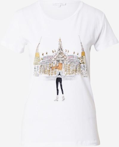 Maglietta 'MAGLIA' PATRIZIA PEPE di colore marrone / grigio / nero / bianco, Visualizzazione prodotti