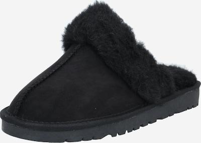 Papuci de casă Bianco pe negru, Vizualizare produs