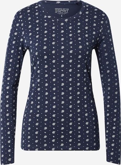 ESPRIT Tričko - námornícka modrá / biela, Produkt