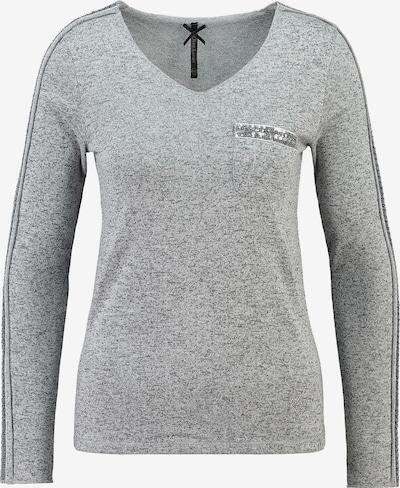 Key Largo Langarmshirt in grau, Produktansicht