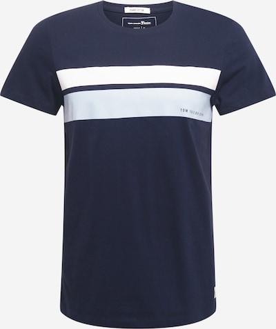 Maglietta TOM TAILOR DENIM di colore blu notte / blu pastello / bianco, Visualizzazione prodotti