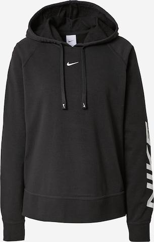 NIKE Bluzka sportowa w kolorze czarny