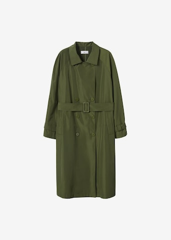 Palton de vară de la MANGO pe verde