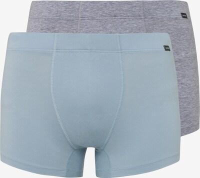Hanro Pants 2-Pack ' Cotton Essentials ' in taubenblau / graumeliert, Produktansicht